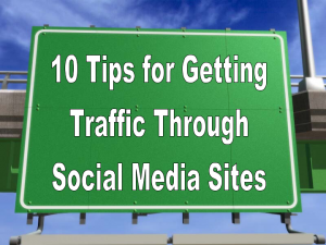 10 tips for getting traffic
